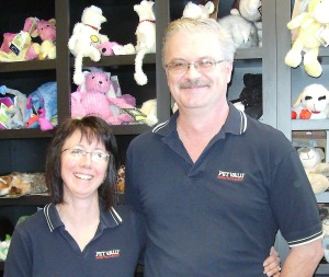 Shelly and Bart Garner own the London-Byron Pet Valu store in London, Ontario