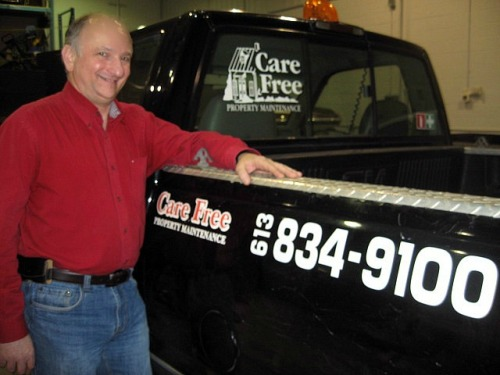 Reg Ainbinder, Care Free Property Maintenance
