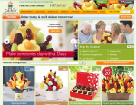Edible Arrangements® website, Canada