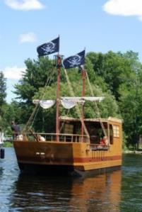 Pirate Adventures boat